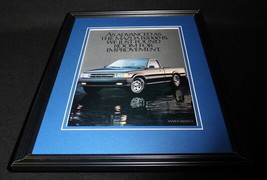 1985 Mazda B2000 LX Framed 11x14 ORIGINAL Vintage Advertisement - $32.36