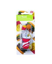 Ear Buds & Cord Wrapper Set - Fast Food - $29.65