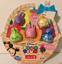 Disney Tsum Tsum Exclusive Tsparkle Tsurprise Color Pop Bunny Figures - Easter! - $9.94