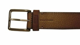 NEW LEVI'S MEN'S STYLISH CLASSIC PREMIUM GENUINE LEATHER BELT BROWM 11LV02UH image 2