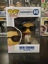 Funko Pop! Television Community Ben Chang #842 Vinyl Figure WITH PROTECTOR! - $11.26