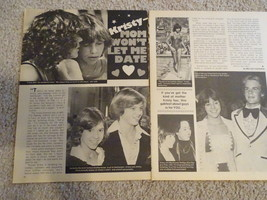 Kristy Mcnichol teen magazine pinup clipping mom won't let me date Teen Beat