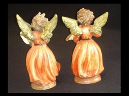 Angel Figurines by A Santini AB 442 Unique Vintage image 2