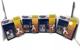 4 Starting Lineups 1994 Action Figures Galarraga Sheffield Fernandez Ole... - $37.39