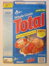Empty General Mills Cereal Box 1997 Total 12 Oz Series 2 - $4.78