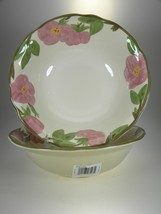 Franciscan Desert Rose Salad Serving Bowls Set of 2 BRAND NEW PRODUCTION - $23.33