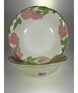 Franciscan Desert Rose Salad Serving Bowls Set of 2 BRAND NEW PRODUCTION - $23.33