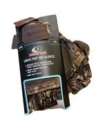 Mossy Oak Breakup Country Ladies  L/XL  Pop-Top Gloves Camouflage Heat R... - $13.80
