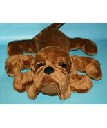 "Tri Russ Stuffed Animal GUS DOG 16"" Bloodhound Hound Brown Plush Soft To... - $38.69"