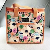 "Matilda Jane Insulated Cooler Bag Peach Floral, 12"" x 10"" x 9"" - $35.63"