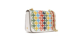 Tory Burch Robinson Embroidered shoulder bag - $373.65
