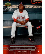 2005 Upper Deck First Pitch #34 Pedro Martinez NM-MT Red Sox - $0.99
