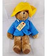 "Eden Paddington Bear Plush 14"" Darkest Peru Stuffed Animal toy - $10.95"