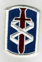 18th Medical Brigade Patch Full Color ARMY:MD10-1 - $3.85