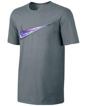 New Mens Nike Crew Neck Light Up Your Logo Cotton Grey T Shirt Tee M - $14.99
