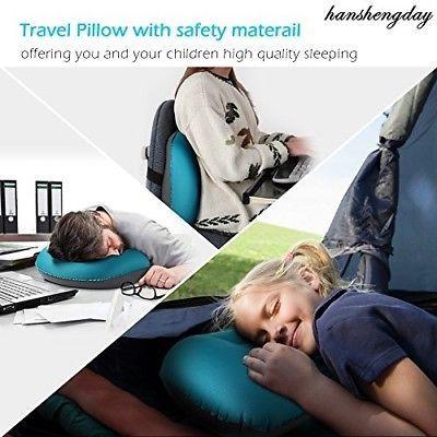 Inflatable Camping Backpacking Travel Pillow -camp Outdoor Hammock Lumbar Basic