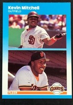 1987 Fleer Update Kevin Mitchell RC #U-82 - $0.98