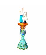 Great Ruler Peacock Sculptural Pedestal - $283.86