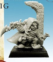 Spellcrow 28mm Miniatures: Halfling with Pouch