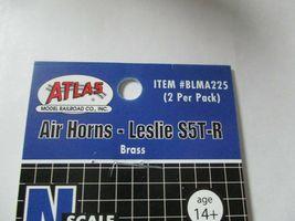 "Atlas # BLMA225 Air Horns Brass ""Leslie S5T-R""  2 per Pack  N-Scale image 4"
