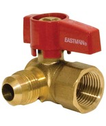 60034 1/2 OD Flare x 1/2 FIP Brass Gas Ball Valve - $26.98
