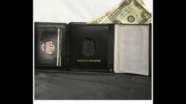 Mini Badge Wallet Sergeant Family Member credit Cards/ID Pictures. - $29.70