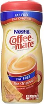 Nestle Coffee-Mate Fat Free Original Powdered Coffee Creamer 16 Oz. - 2 Pack