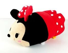 "Disney Store Tsum Tsum Minnie Mouse Medium 12"" Cute and Cuddly Plush - $14.99"
