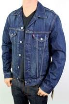Levi's Men's Classic Cotton Button Up Blue Denim Jeans Jacket 707970013 Size XL image 2