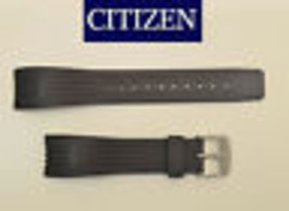 Genuine  Citizen 22mm 4-S061857  Rubber Watch Band BLACK Strap 59-S51268 - $38.00