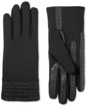 Isotoner Signature Women's Spandex Touchscreen Herringbone Cuff Gloves - $25.00+
