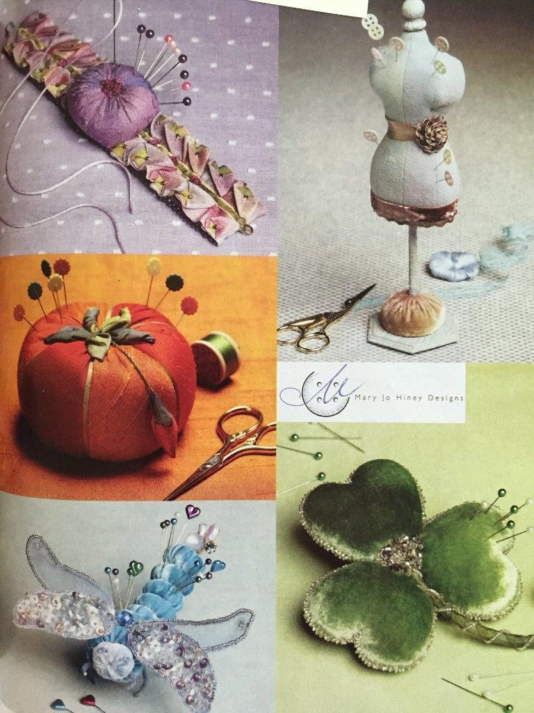 Vogue Sewing Pattern Mary Jo Hiney 9179 Five Special Pincushions Size O/S New