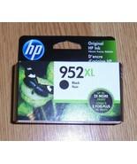 Genuine HP 952XL Black Ink Cartridge New 2021 952 XL  - $28.04
