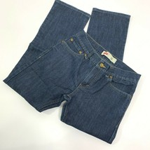 Levi's Boys 511 Slim Medium Wash Straight Leg Jeans Size 18 Regular - $14.22
