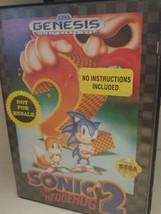 Sonic the Hedgehog 2 (Sega Genesis, 1992) Game Cartridge no Instructions - $30.00