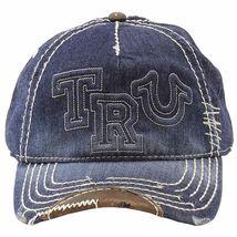 New True Religion Men's Premium Classic Trucker Distressed Hat Cap Buddha TR1995 image 9