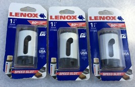 "3 PCS Lenox 1771960 1-1/4"" 32mm Bi-Metal T2 Hole Saws w/ Speed Slot, Lot of 3 - $20.30"