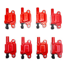 "Chevrolet GM GMC LS LSX LS1 LS2 LS3 LS6 8 Coils & 11"" 8mm Spark Plug Wires D510C image 2"