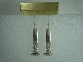 Wallace Romance of the Sea 1950 Earrings Sterling - $115.82