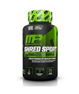 Musclepharm Shred Sport Thermogenic Fat Burner 60 Count New Shred Matrix - $25.73
