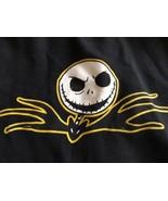 Nightmare Before Christmas Jack Skellington Face Black Zip Up Hoodie XL ... - $16.15