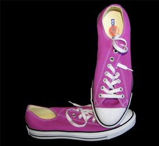 Chuck Taylor All*Star Fuschia Converse Canvas Low Tennis Shoes HTF Color... - $49.99