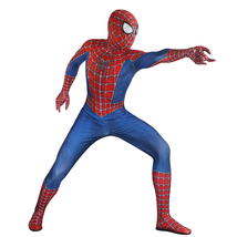 Kids Spiderman Bodysuit Halloween Spandex Lycra Bodysuit Cosplay Zentai ... - $49.99