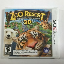 NEW & SEALED Zoo Resort 3D (Nintendo 3DS, 2011) Game Complete with Manual - $19.78