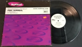 CB) Nick Sentience & Tim Healy Feel Surreal - England - Vinyl Music Record - $9.89