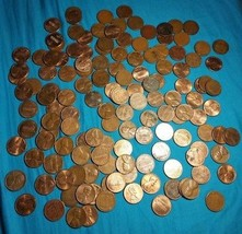 140 Different Lincoln wheat cent Coins Money Old Rare Collection Set Lot... - $29.69