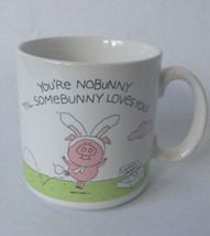You're No Bunny Coffee Mug Cup American Greetings Stoneware Made in Japan - $8.79