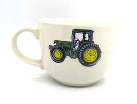 John Deere Tractor Coffee Soup Chili Mug Lg Oversized Nothing Runs Like ... - $9.49