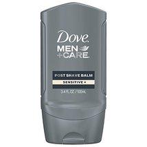 Dove Men+Care Face Care Post Shave Balm, Sensitive 3.4 oz image 2