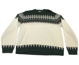 Orlon Acrylic By Campus GR Christmas Sweater Vintage 70'S Mens Size Large - $38.49